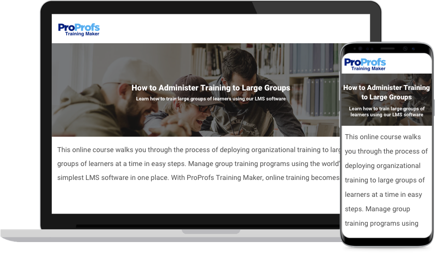 Organizational Training Software