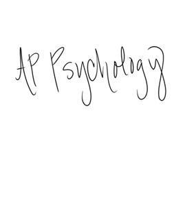 memory - AP psychology