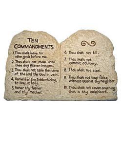 Commandments Quiz