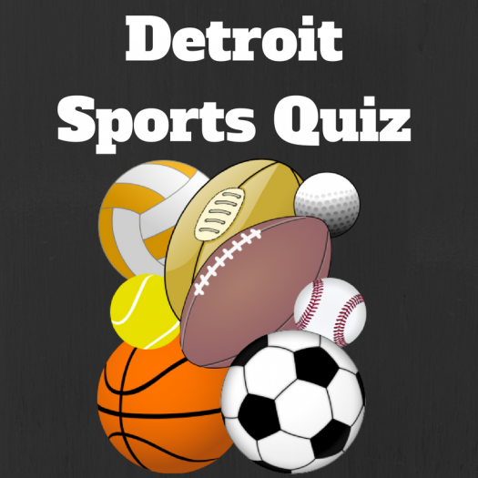 Detroit Sports Quiz