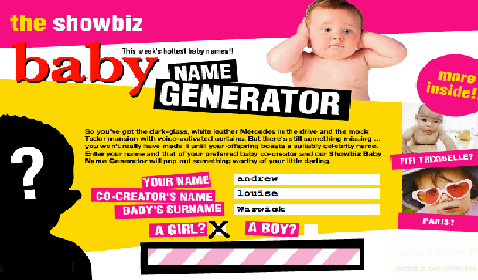 baby generator picture