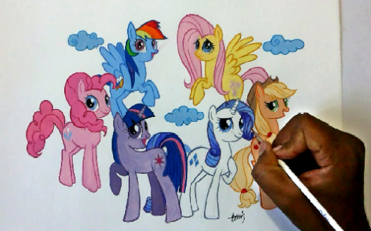 How To Draw My Little Pony Characters?