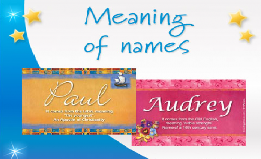 What Is The Meaning Of Your Name? - ProProfs Quiz
