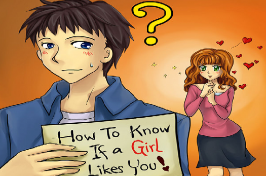 how to tell if a girl likes you quiz