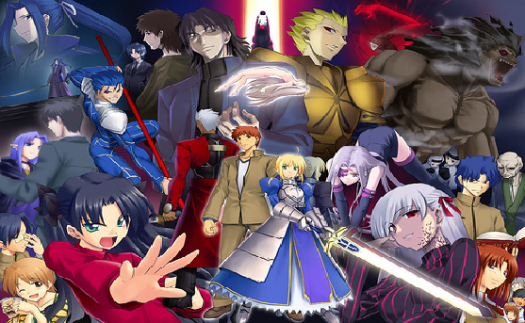 Fate Stay Night Characters