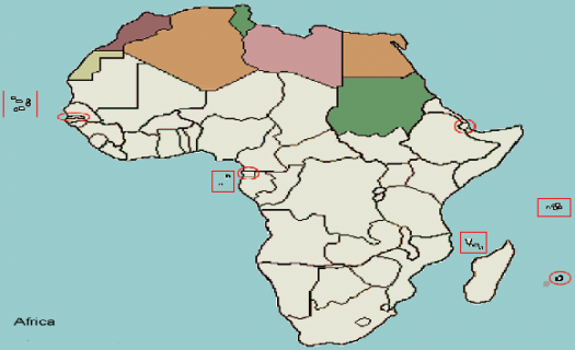 The Northern Africa Map Quiz