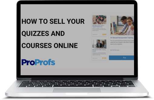 Create & Sell Online Courses, Quizzes & Exams