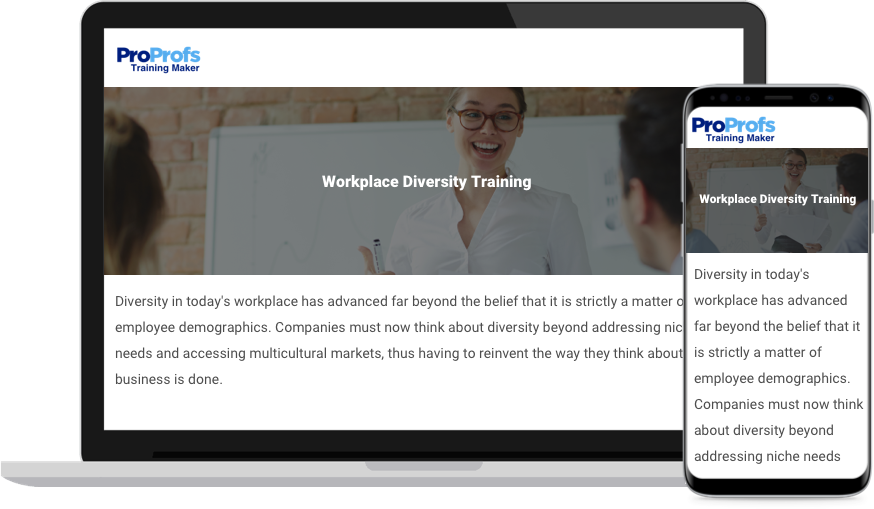 Online Workplace Diversity Training Course
