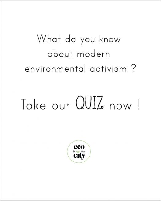 Modern Environmental Activism