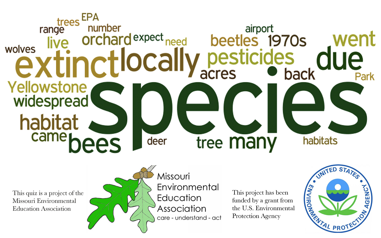 Upper Elementary Environmental Literacy - Biodiversity and Habitat Loss