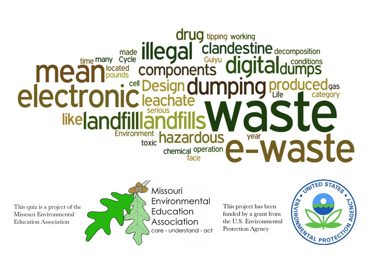 Middle School Environmental Literacy - Waste