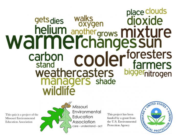 Early Elementary Environmental Literacy - Climate Change