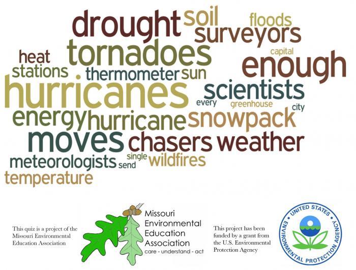Upper Elementary Environmental Literacy - Climate Change