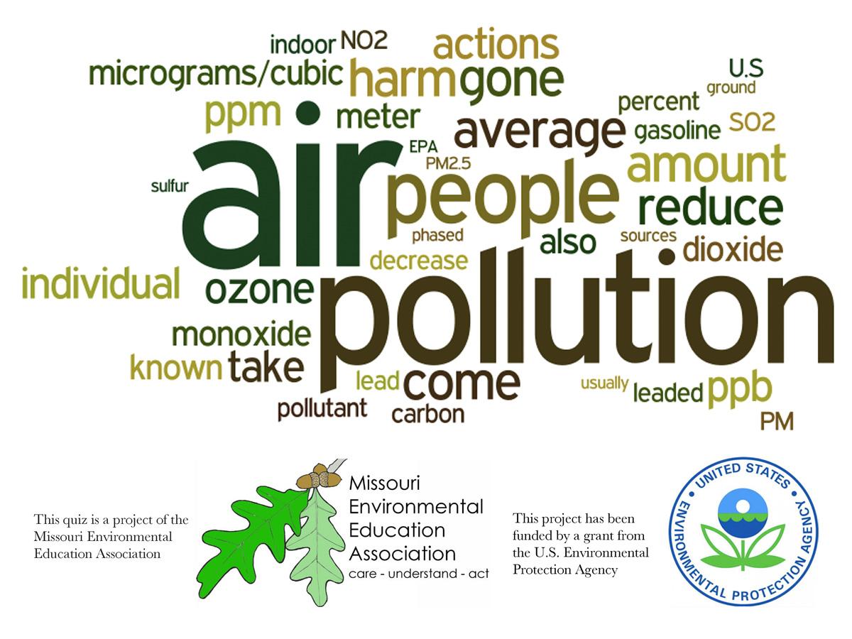 Middle School Environmental Literacy - Air Pollution