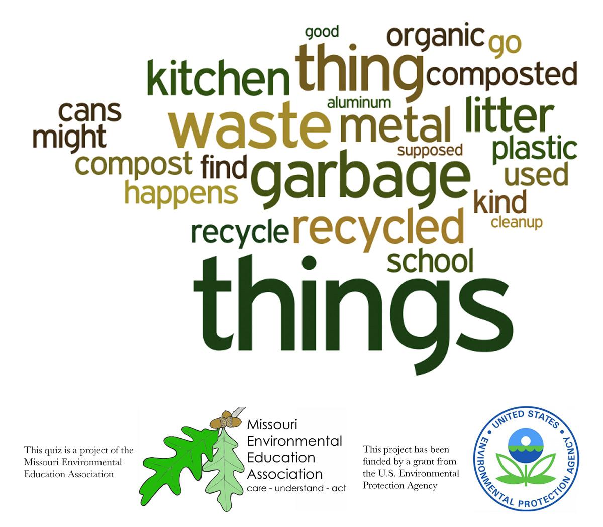 Early Elementary Environmental Literacy - Waste