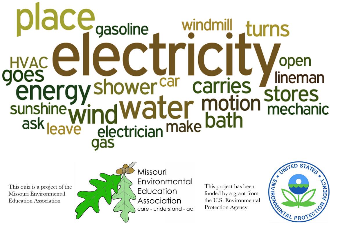 Early Elementary Environmental Literacy - Energy