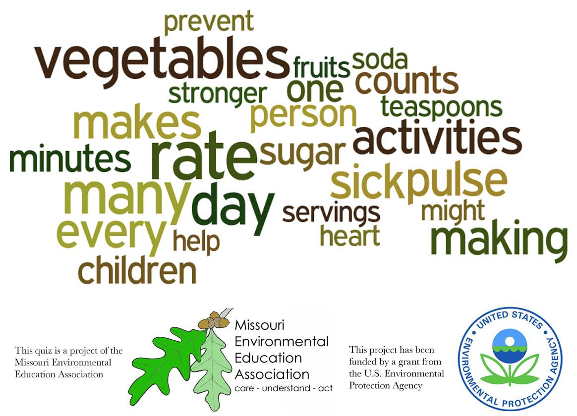 Early Elementary Environmental Literacy - Human Health