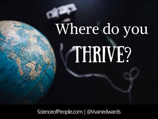 Where Do You Thrive?