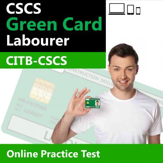 CSCS Green Card Sample Online Practice Test