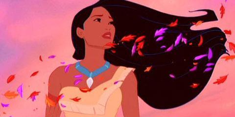 فیلم دیزنی شما Pocahontas است:
