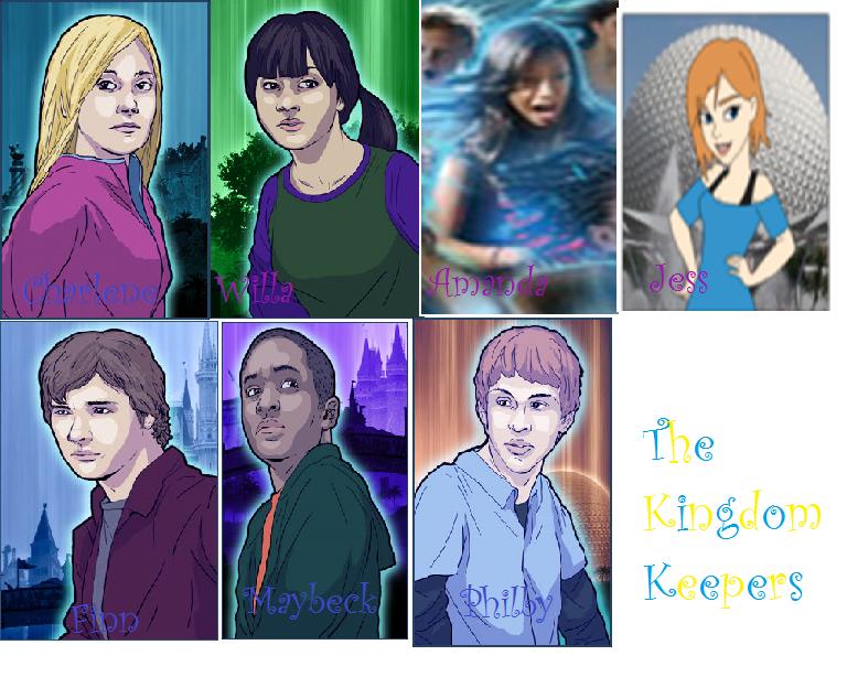 Kingdom Keepers Characters Top The Kingdom...