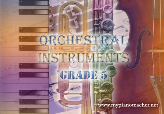 Orchestral Instruments And Terms Grade 5 (Exam Format)