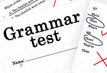 Image result for grammar test