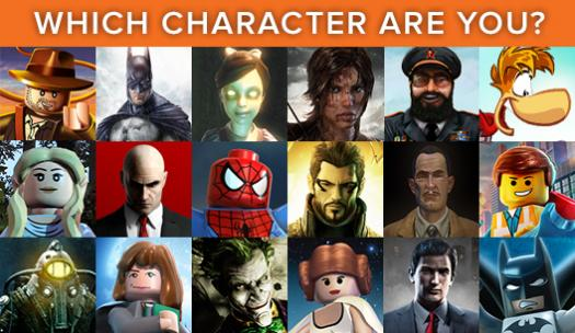 Which Character Are You? Which One Are You?