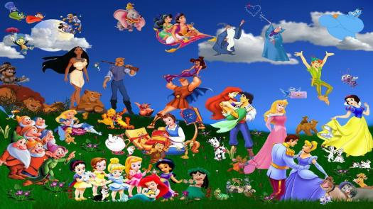 Do you know about disney characters?