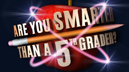 Are You Smarter Than A 5th Grader? TV Series Questions