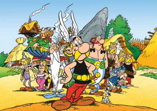 Do You Know The Characters Of Asterix Book?