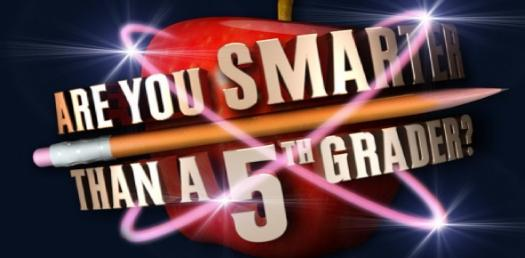 are you smarter than a 5th grader? tv series questions - proprofs quiz, Modern powerpoint