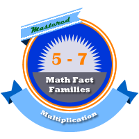Multiplication Families 5 - 7