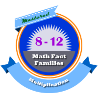 Multiplication Families 8 - 12