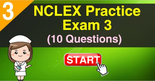 NCLEX Practice Exam 3 (10 Questions)