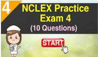 NCLEX Practice Exam 4 (10 Questions)