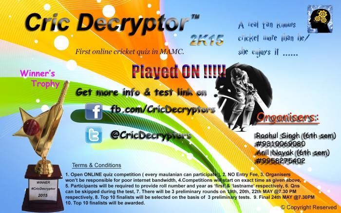 Cric Decryptor Lite 3.0