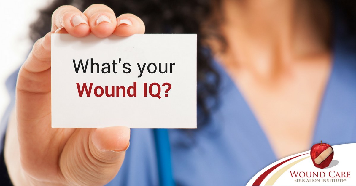 Ready to Test Your Wound IQ?