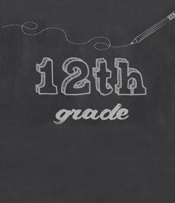 12th Grade Post Test