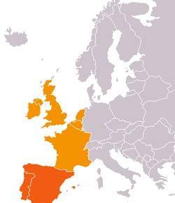 Western Europe Quiz ProProfs Quiz - Western europe map quiz