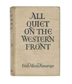 All Quiet On The Western Front Essay Introduction Future Leaguers