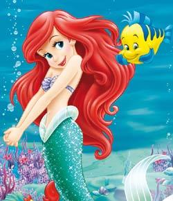 Characters In The Little Mermaid