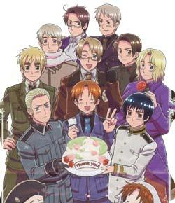 how well do you know the hetalia characters proprofs quiz