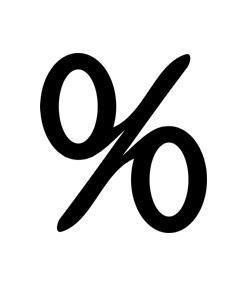 Shortcuts - Percentage Conversions