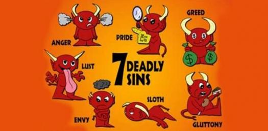 What Seven Deadly Sin Are You? Quiz
