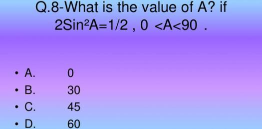 Lets Learn About General Knowledge Maths Quiz - ProProfs Quiz