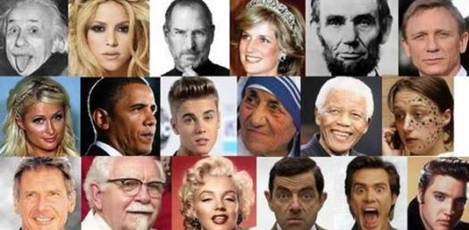 Famous People Picture Quizzes Online, Trivia, Questions