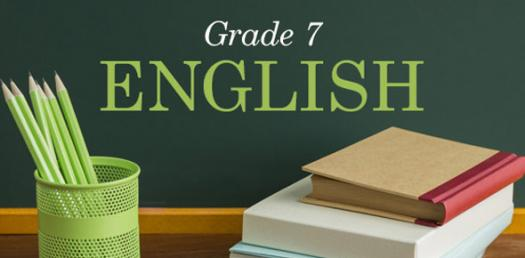 7th Grade English Practice Quiz