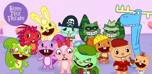 Happy Tree Friends Characters!