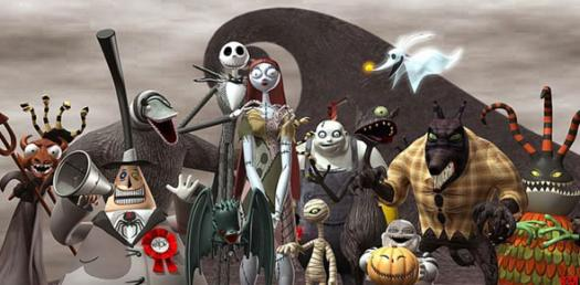 which nightmare before christmas character - Nightmare Before Christmas Pics